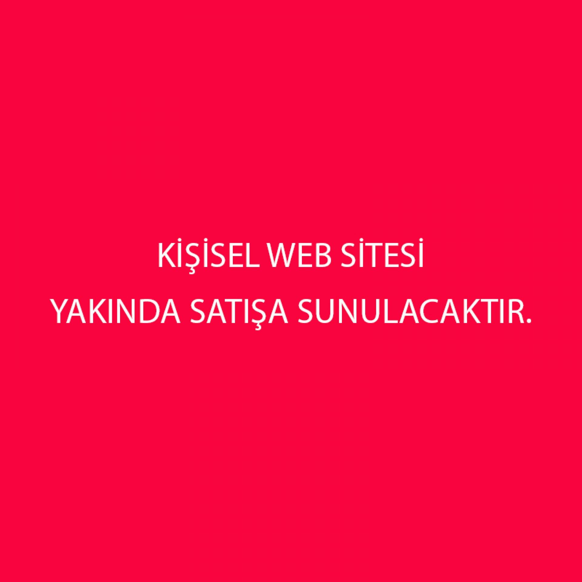 KİSİSEL WEBSİTE